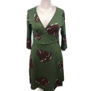NWOT Patagonia Margot Dress M, Seaweed/Moab Flower